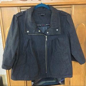 Women's 3/4 sleeve light jacket